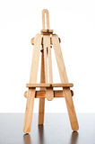Tripod. An empty easel for putting a board in it Stock Image