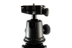 Tripod ball head Royalty Free Stock Photo