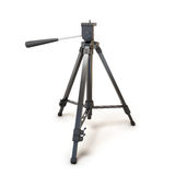 Tripod for camera or camcorder Royalty Free Stock Photos
