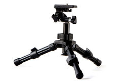 Tripod for the camera Royalty Free Stock Photography