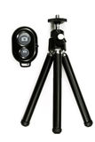 Tripod for camera isolated on the white background Royalty Free Stock Image