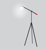 Tripod floor lamp Stock Image