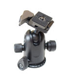 Tripod head Royalty Free Stock Image