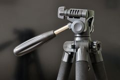 Tripod head for photo and video shooting royalty free stock image