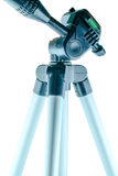 Tripod on isolated Stock Photography