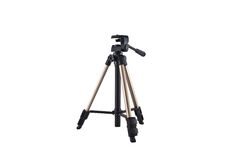 Tripod for photo and video cameras Royalty Free Stock Photo