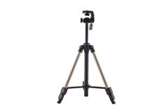 Tripod for photo and video cameras Royalty Free Stock Images