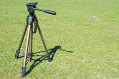 Tripod. Picture of tripod in nature ready for action Royalty Free Stock Photos