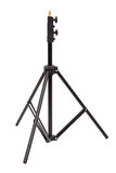 Tripod for studio lighting isolated on the white. Light stand Stock Photography