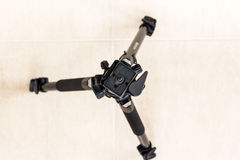 Tripod top view Stock Photography