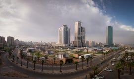 Tripoli arquitetura da cidade junho de 2019 fotografia de stock