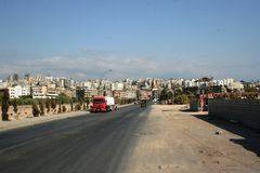 Tripoli Lebanon conflict Royalty Free Stock Images