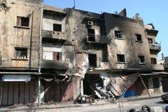 Tripoli Libanon konflikt Royaltyfria Bilder