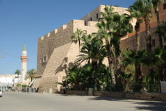 Tripoli, Libya. Ramparts next to the Jamahiriya museum of Tripoli, in Libya Royalty Free Stock Photos