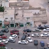 View of Tripoli. Tripoli, Lybia - May 29, 2002: View of Tripoli from above Royalty Free Stock Photos