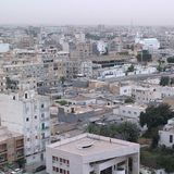View of Tripoli. Tripoli, Lybia - May 29, 2002: View of Tripoli from above Stock Photography