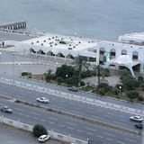 View of Tripoli. Tripoli, Lybia - May 29, 2002: View of Tripoli from above Royalty Free Stock Image