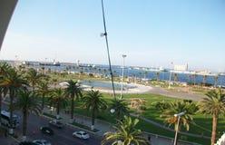 Tripoli sikt av fred på havsframdelen fotografering för bildbyråer