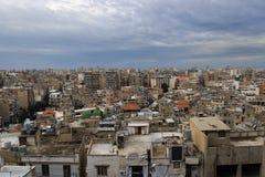 Tripoli-Stadt-Panorama, der Libanon Stockbild