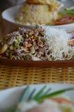 Tripple Crisp   Spicy Seafood Salad Royalty Free Stock Photo