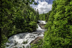 Tripple Falls. At Dupont Forrest Stock Photo