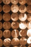 Trippy света снова стоковая фотография rf