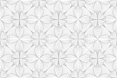 Trippy abstrakte Illustrationslinien 3d-Muster lizenzfreie stockfotografie