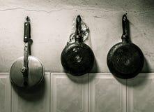 Triptic κουζίνα Στοκ φωτογραφία με δικαίωμα ελεύθερης χρήσης