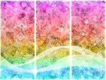 triptych битов Стоковое фото RF