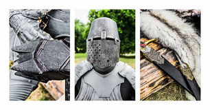 Triptych - Luke's Grandfather Royalty Free Stock Images