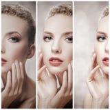 triptychon blick Stockfotos