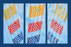 Triptychon-Sonnenaufgang 2 lizenzfreie stockbilder