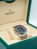 Tripulante de submarino de Rolex, ninguna fecha, reloj fotos de archivo libres de regalías