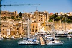 Triq Marina in Kalkara of Malta Royalty Free Stock Photo