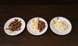 Tris τσιπ σοκολάτας Στοκ φωτογραφίες με δικαίωμα ελεύθερης χρήσης