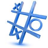 tris символа игры Иллюстрация вектора