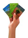 Tris energy Stock Photos