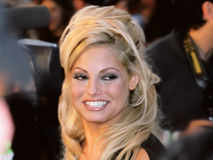 Trish Stratus. At the Much Music awards Stock Photography