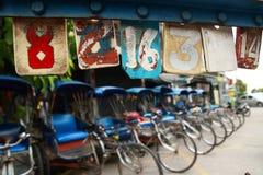 trishaw Стоковое Изображение