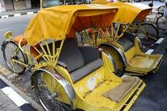 Trishaw Stock Image