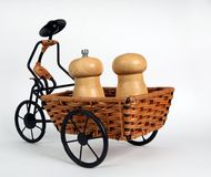 Trishaw Royalty Free Stock Images