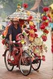 Trishaw chaufför Royaltyfri Bild