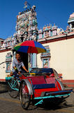 Trishaw at Hindu Temple Stock Photos