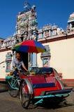 Trishaw at Hindu Temple Stock Photos