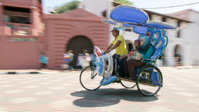 Trishaw in Malacca Royalty Free Stock Image