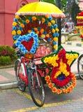 Trishaw in Melaka, Malesia Immagini Stock Libere da Diritti