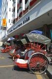 Trishaw at Penang, Malaysia. Royalty Free Stock Images