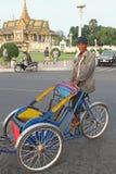 Trishaw in Phnom Penh Royalty Free Stock Photography