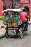 Trishaw Ride Stock Image