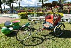 Trishaw Thai - Driewieler Royalty-vrije Stock Fotografie